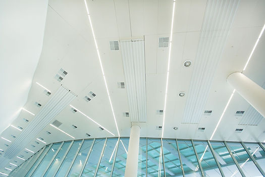 Nizhniy International Airport ceiling