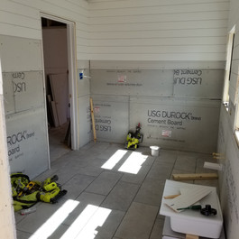 Master Bathroom During