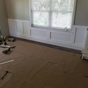 Wall Trim After