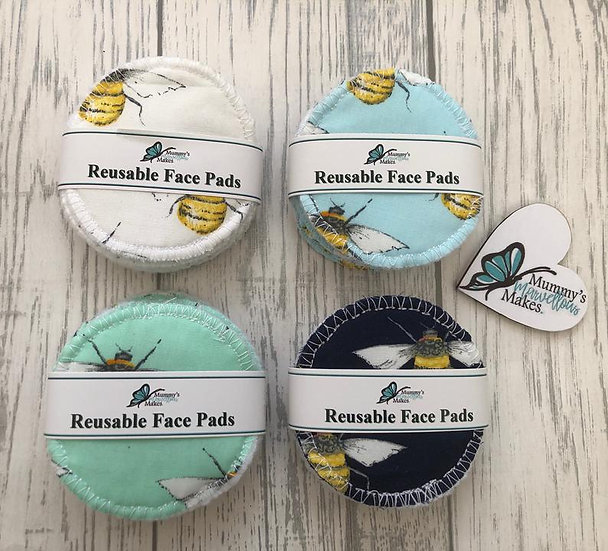 Soft Reusable Face Pads