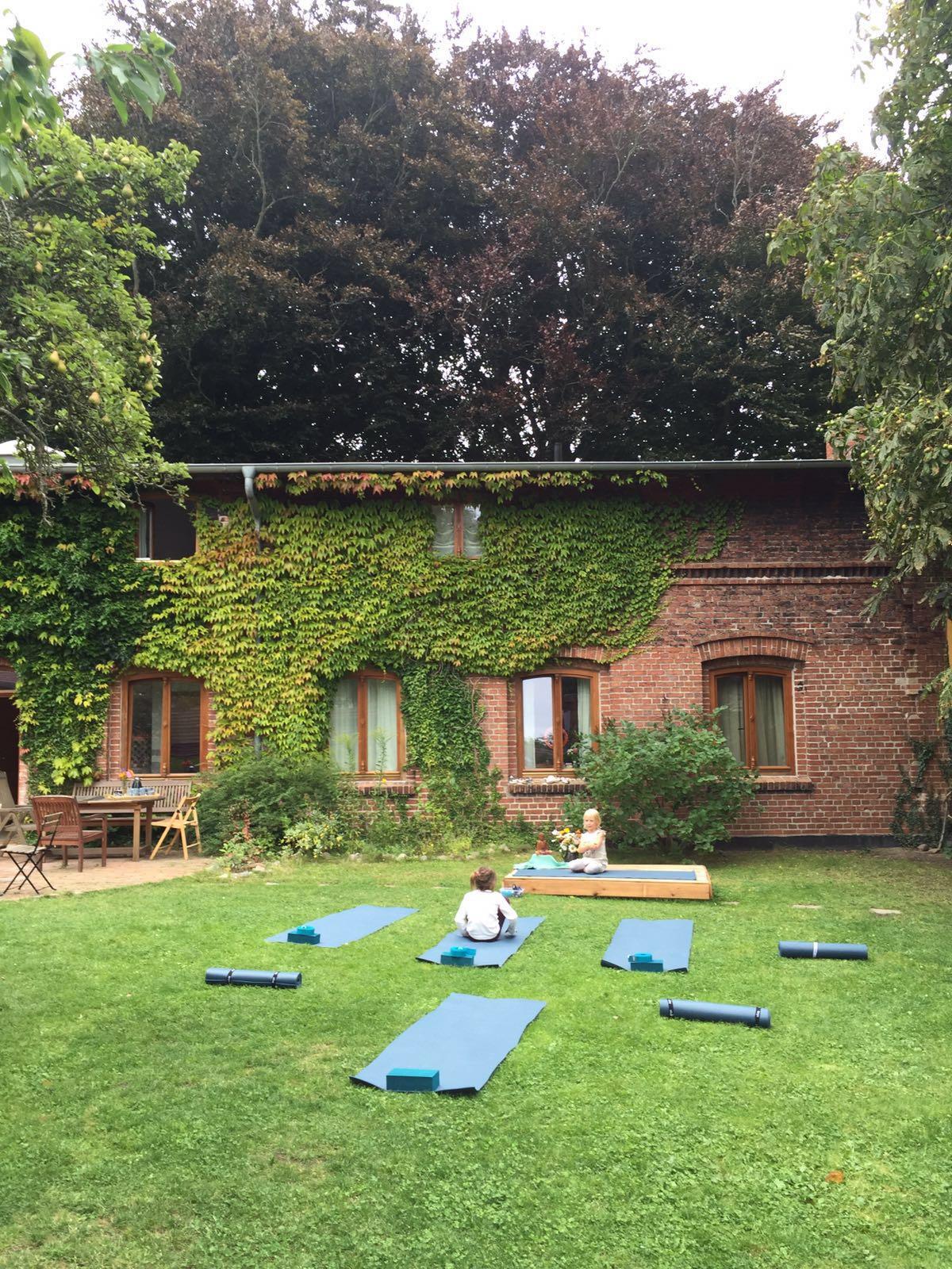 Yoga und Atmen