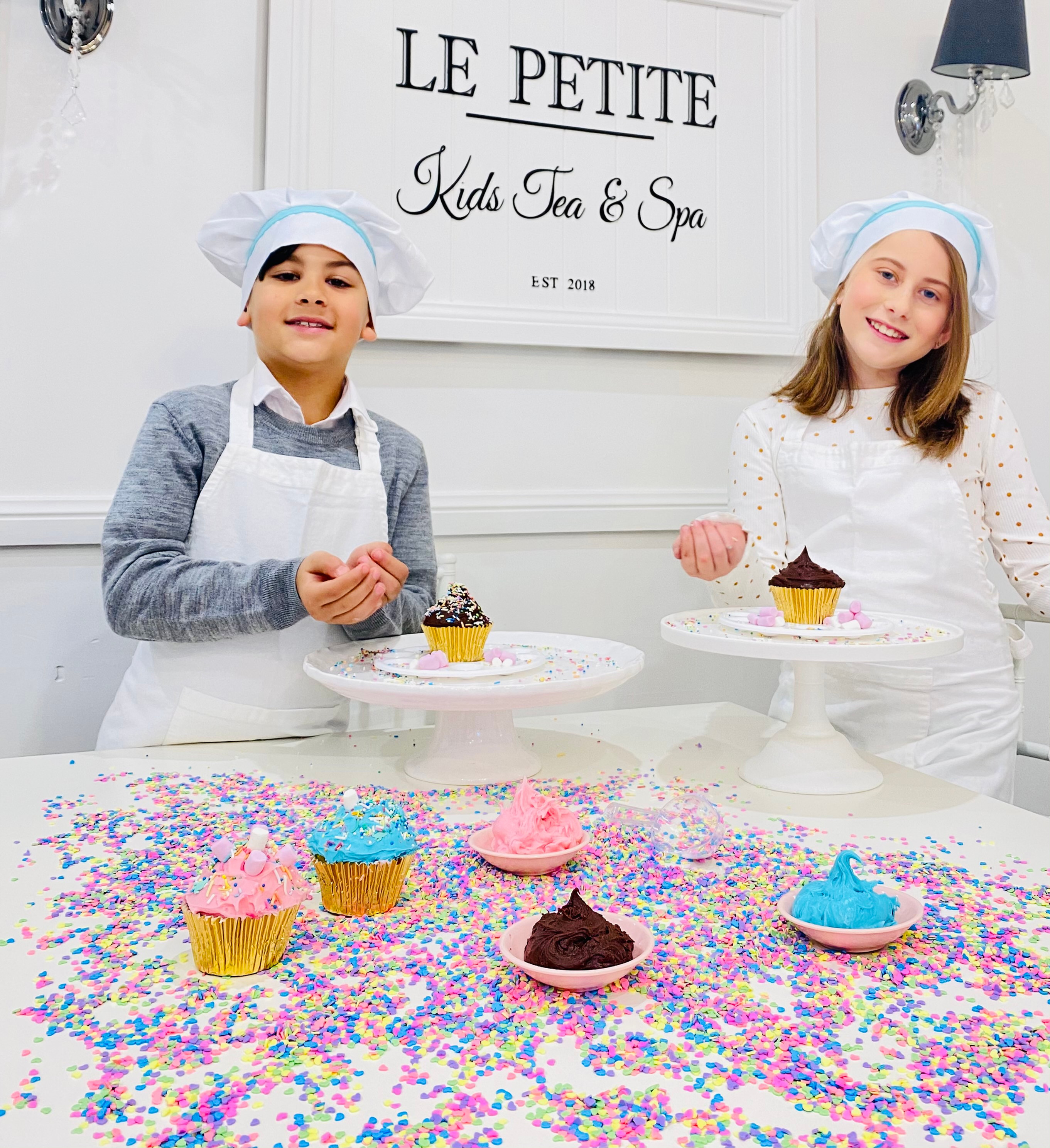 Cupcake Decorating Party $650 (+gst)