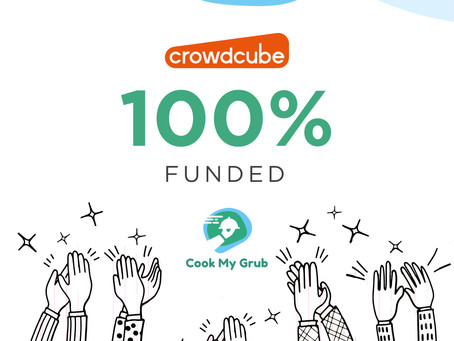 🎉🎉We're now 100% subscribed on Crowdcube 🙌🙌
