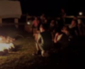 Lagerfeuerkonzert auf der Hupp