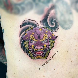 Evita at The Dragons Lair Tattoo HK_Foo