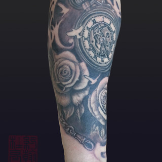 Pocket watch and roses a.jpg