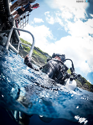 Scuba Diving on Guam at The Crevice