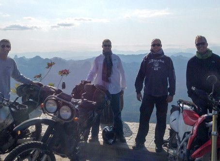 Leg 1 - Around the world to 82 countries - End of all Roads