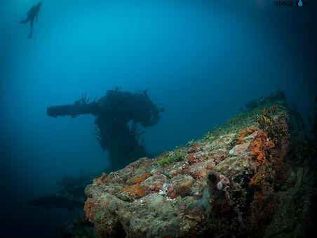 Diving The Kitzugawa Maru in Guam