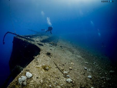 Diving th Tokai Maru in Guam