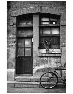 Doorway and Bicycle
