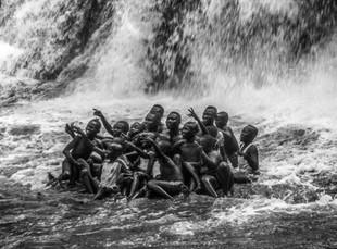 School Class, Kintampo Falls
