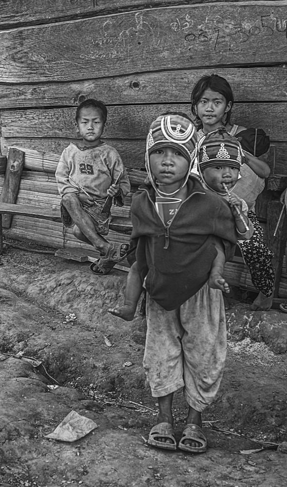 Lahu Tribal Children