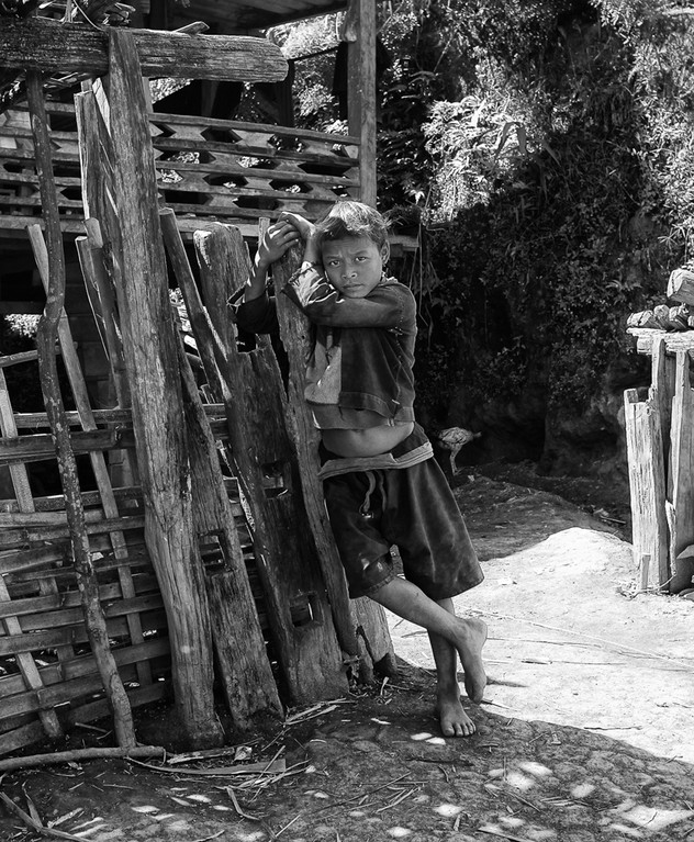 Ann Hill Tribe Boy