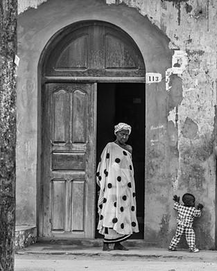 Woman in the Polka Dot Dress