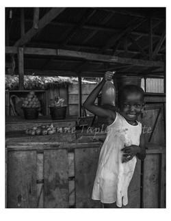 Child in Market