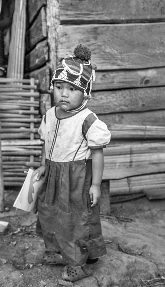Lahu Tribal Child