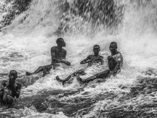 Classmates at the Falls
