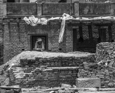 Woman Rebuilding