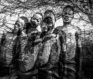 Boys of the Mursi Tribe