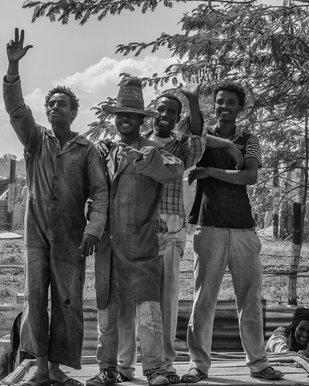 Men in Alaba Market