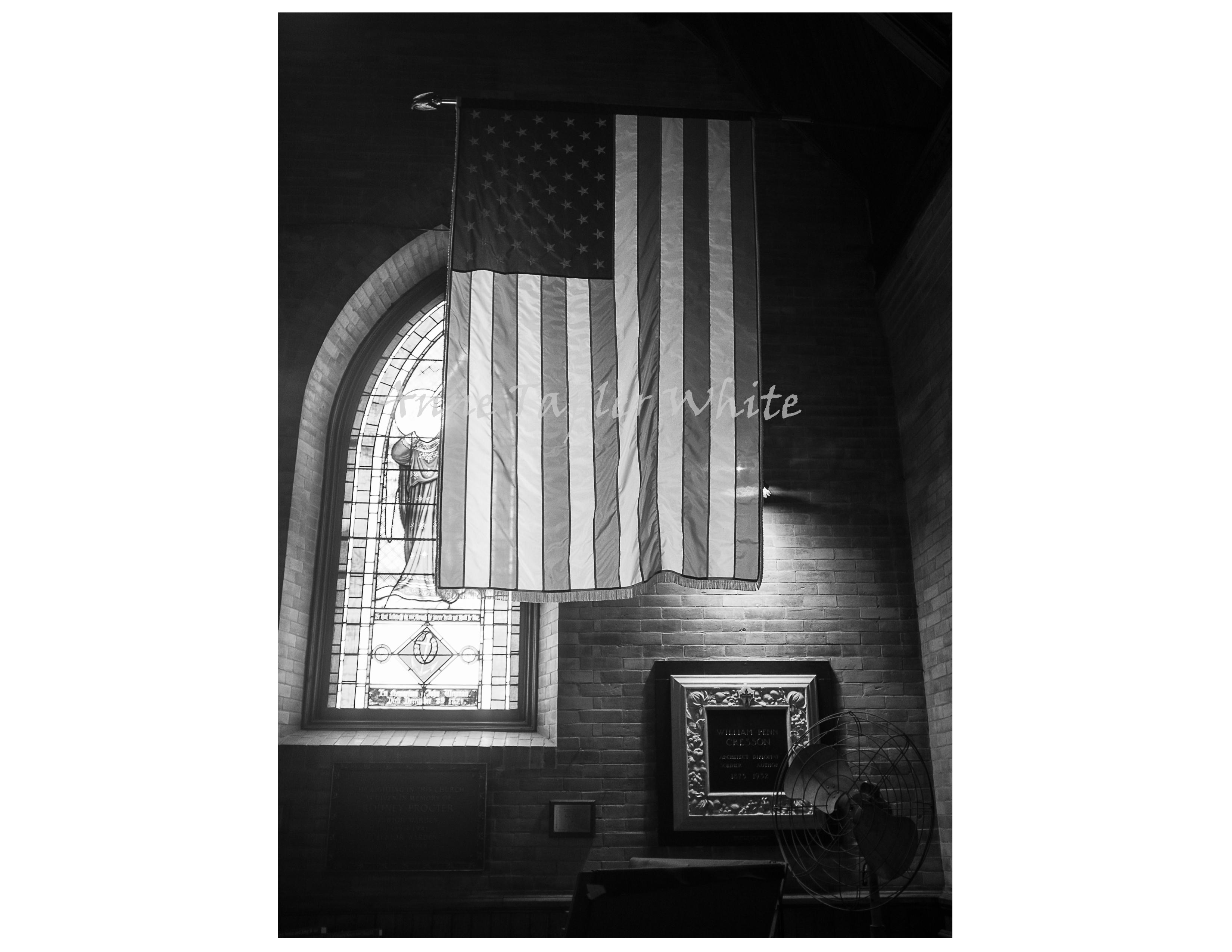 Church in Stockbridge, Mass.  2014