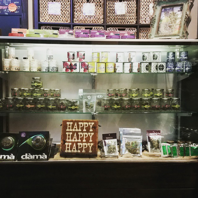 Our cases are full of tons of amazing buds! Stop in and see some of our new additions! #thegreendoor