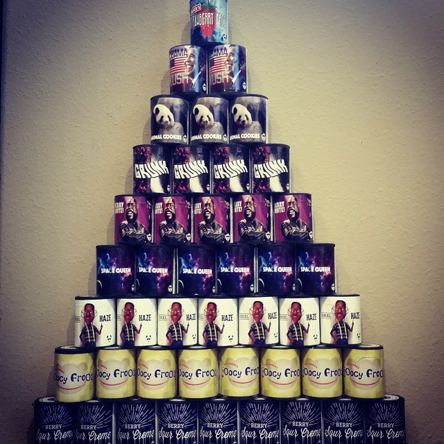 The pyramid of panda!!! Come get some while supplies last!!! @growopfarms #thegreendoor #buckley #in
