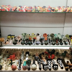 We've got glass and lots of it!!! Swing by and take a look of the selection #pipes #glasspipes #blow