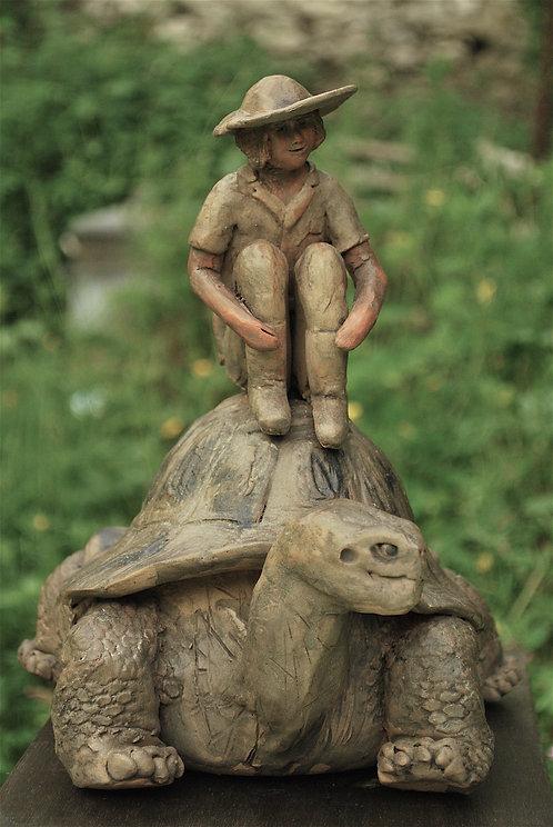 La jeune fille et la tortue