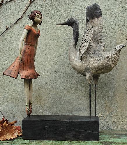 la danseuse et la grue japonaise