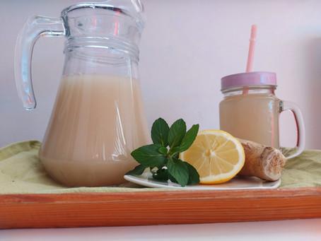 Medovo - zázvorová limonáda