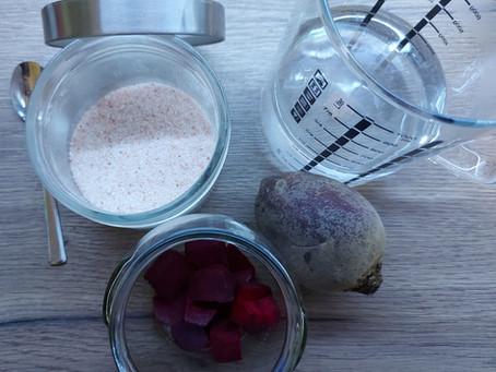 Zdravý nápoj z 3 ingrediencií - cviklový kvas