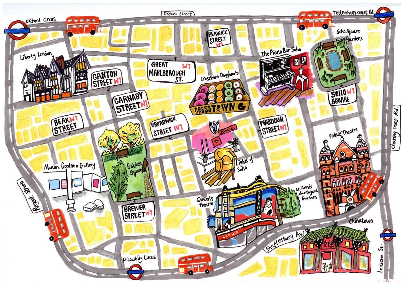 map of soho