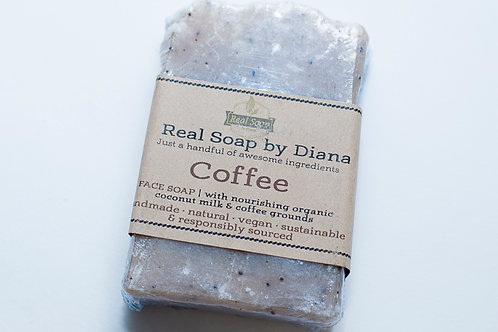 Coffee and Coconut Milk Soap