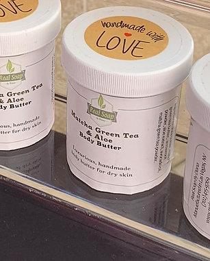 Matcha Green Tea and Aloe Body Butter