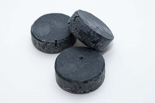 Activated Charcoal Round Soap