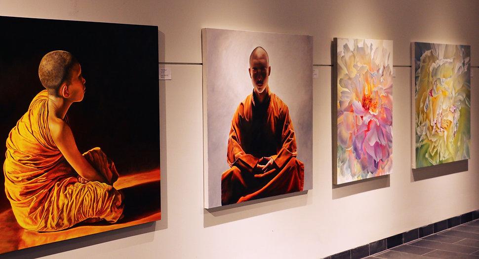 Buddhist Art, Fine Art, Floral Art