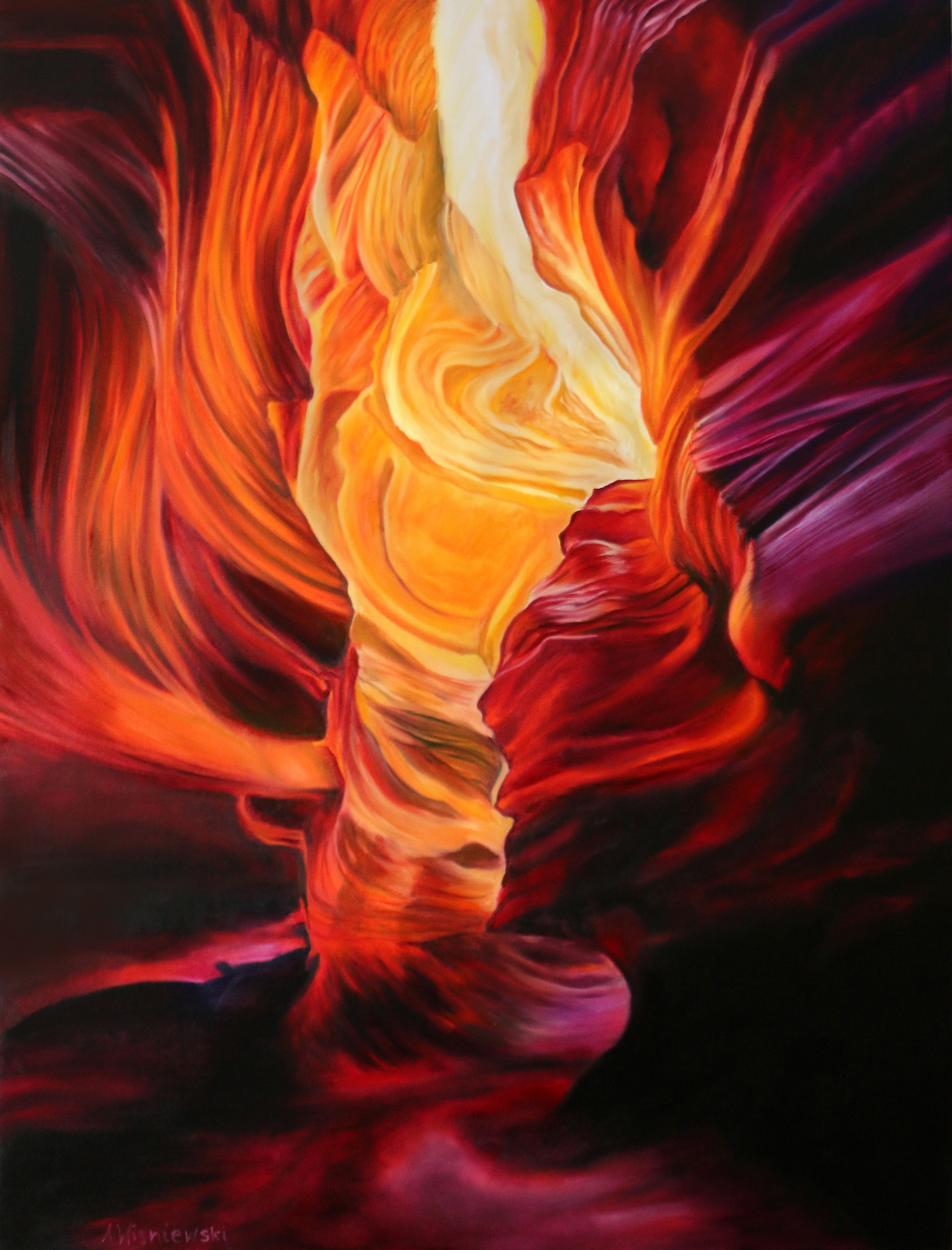 SOLD - Fire