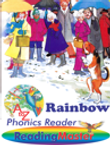 Rainbow Phonic Reader with animated 'read to me'