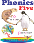 Phonics Five - with interactive audio and video