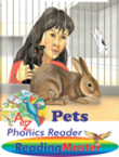 Pets Phonic Reader with animated 'read to me'