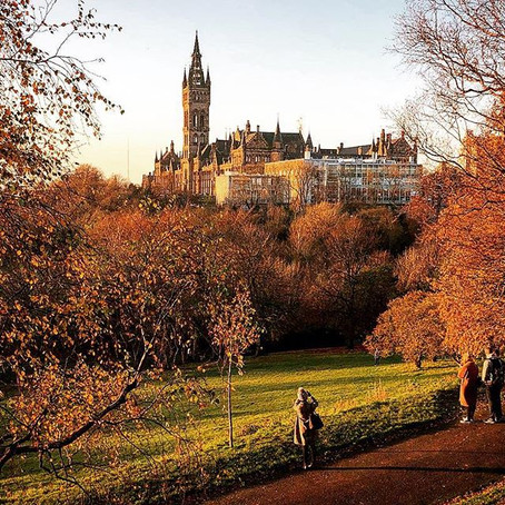 Autumn in Glasgow? Wander the parks!