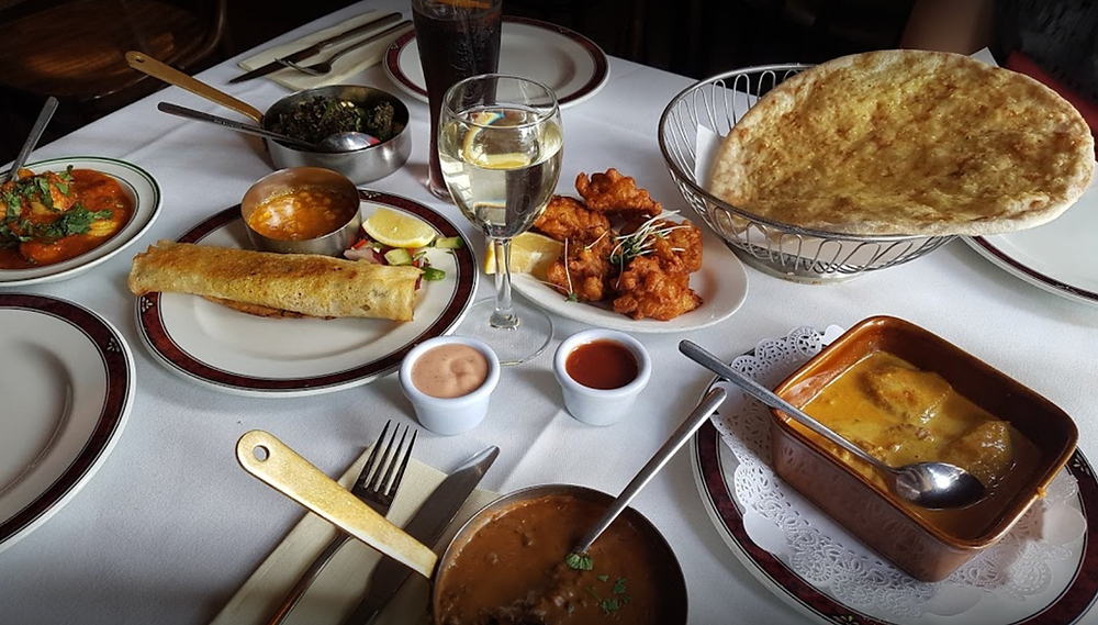 indian restaurant glasgow, mother india's cafe, best indian glasgow