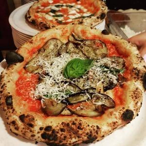 Pizza from Paesanos in Glasgow Scotland