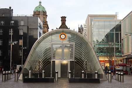 walking tours in glasgow, city centre to