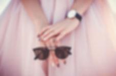 ピンクのファッション