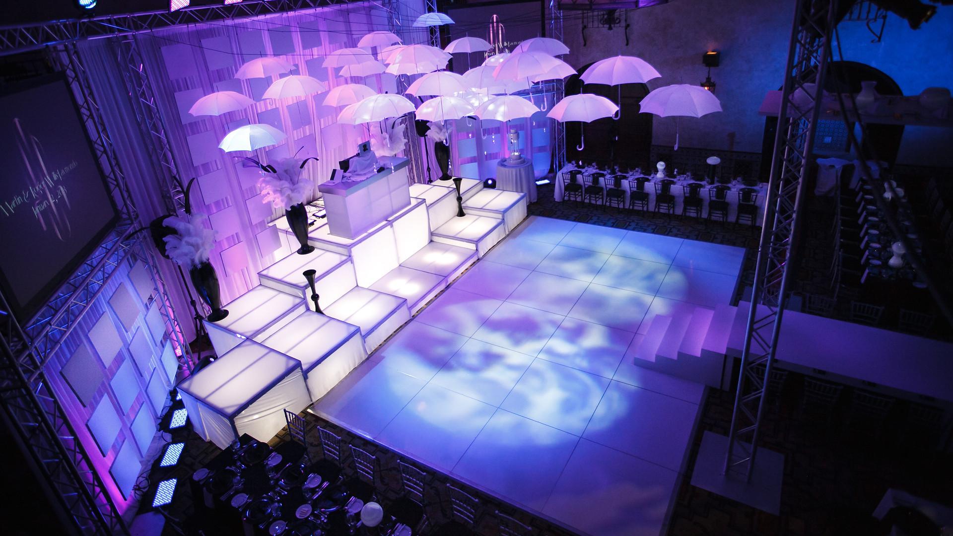 Dance Floor & Stage Set