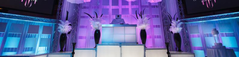 DJ Booth & Stage Set