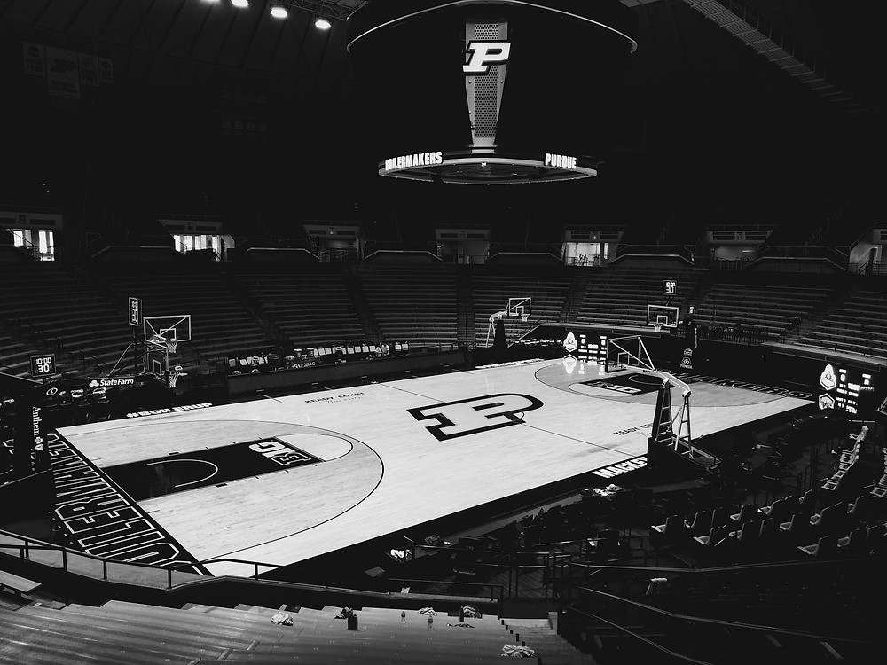 Mackey Arena, home of the Purdue Boilermakers in West Lafayette, Indiana, is one of the sites for the 2021 NCAA Tournament. Photo courtesy of Unsplash.